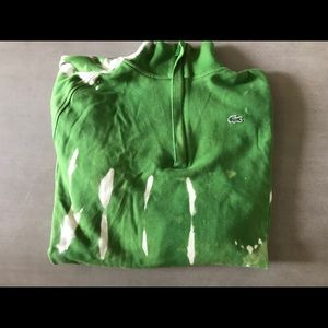 Bleached Lacoste Pullover